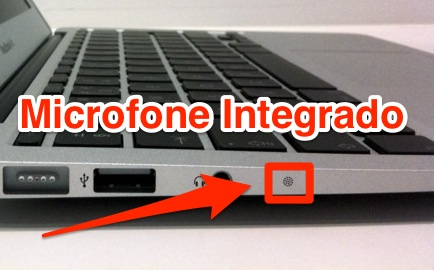 microfone macbook