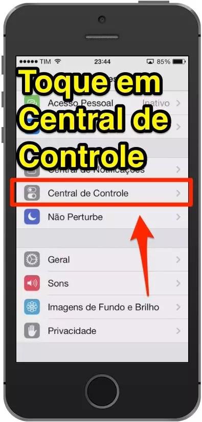 Aprenda a Desativar a Central de Controle na Tela Bloqueada do iPhone e iPad