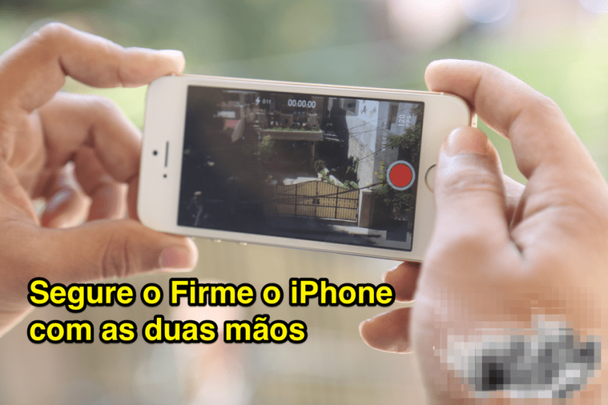 Filmagem com o iPhone