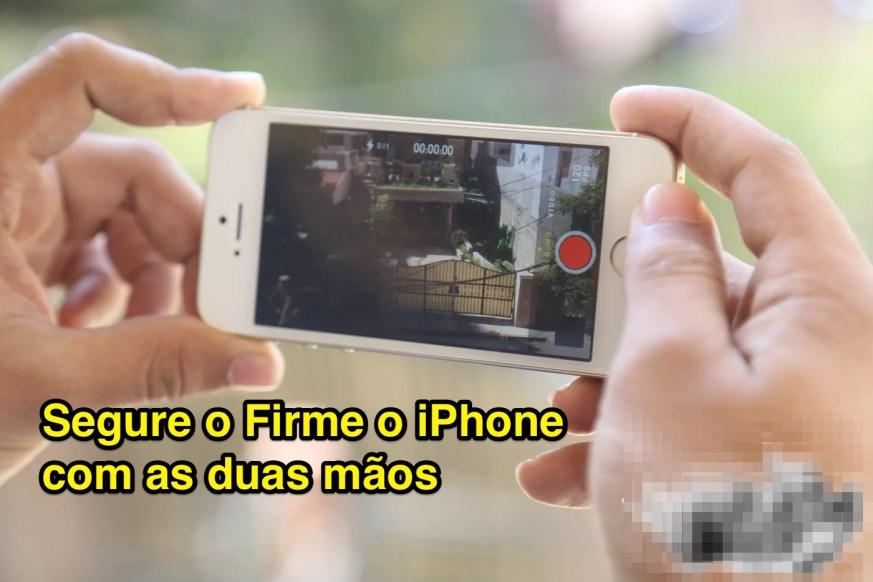 Filmagem com o iPhone