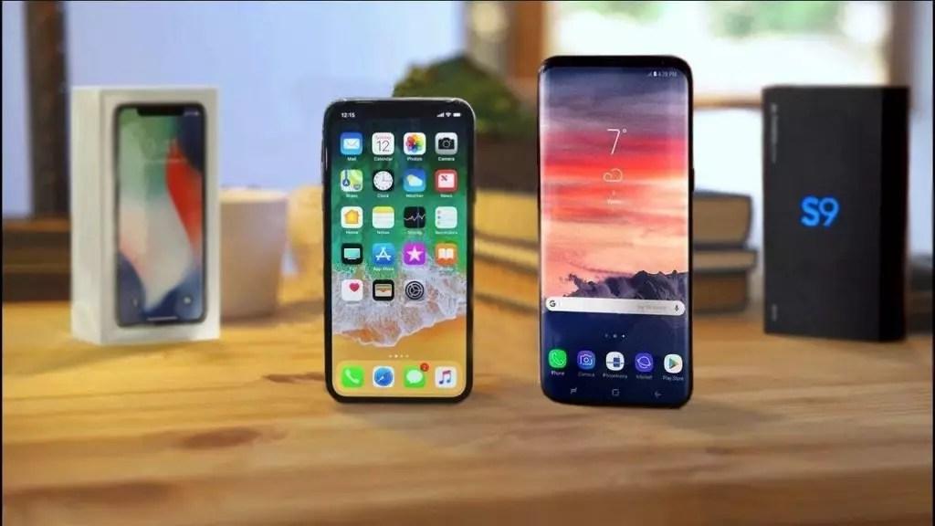 iPhone X ou Galaxy S9 Qual é Melhor?