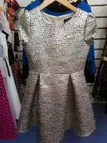 Laundry by Shelli Segal dress in Janet Hunter Hawkins showroom, Atlanta Apparel