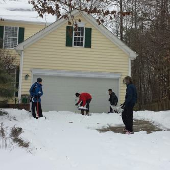 Sarah Davis (Hillsborough, NC) - Stealthy Snow ShovelersFor years, Sarah Davis and her teenage sons have been quietly helping to clean up their elderly neighbors' yards. From stealthily shoveling driveways and sidewalks, to cleaning up fallen trees, Sarah and her sons have inspired positive change in their neighborhood: now, most of their neighbors go and do the same without being asked.
