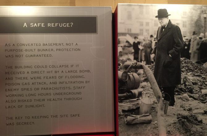 Um dia em Londres com Churchill