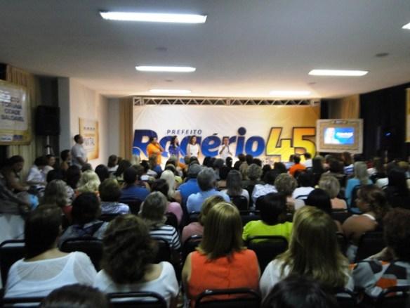 Reunião das mulheres Democratas em apoio a Rogério Marinho