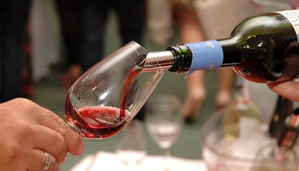 Degustação de vinhos para a Amico