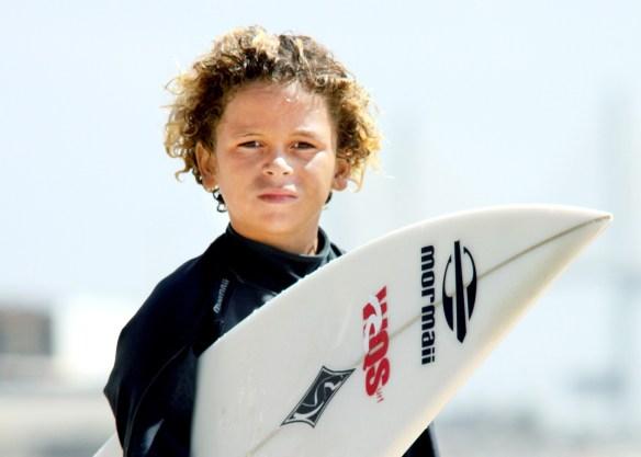 Fabrício Rocha é campeão de surf