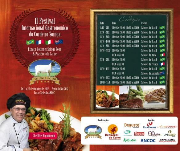 Festival Gastronômico na Festa do Boi