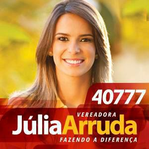Júlia Arruda foi reeleita