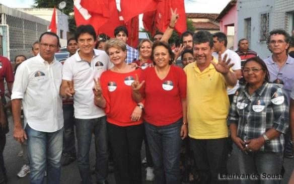 Raniere, Robinson, Wilma, Fátima e Hugo Manso
