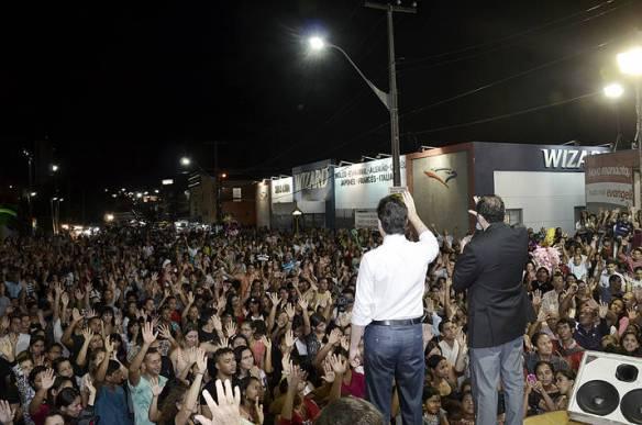 3 mil pessoas participaram da festa