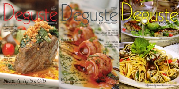 Capas Revista Deguste