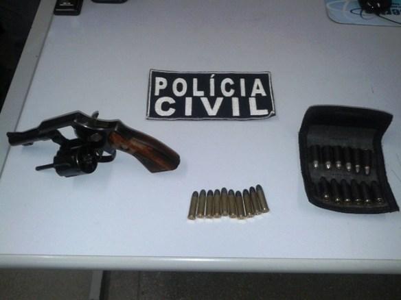 armas apreendidas em São Rafael