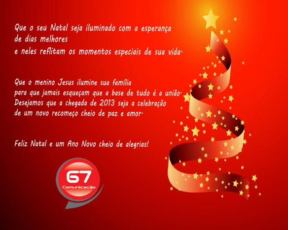 Cartão de Natal da G7 de Gustavo Farache