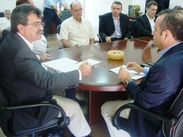 Amaro Sales recebe novo secretário de Desenvolvimento Econômico, Rogério Marinho