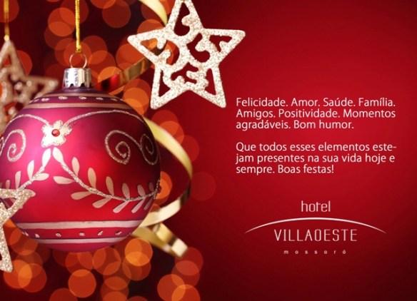 Feliz Natal do Hotel Villa Oeste