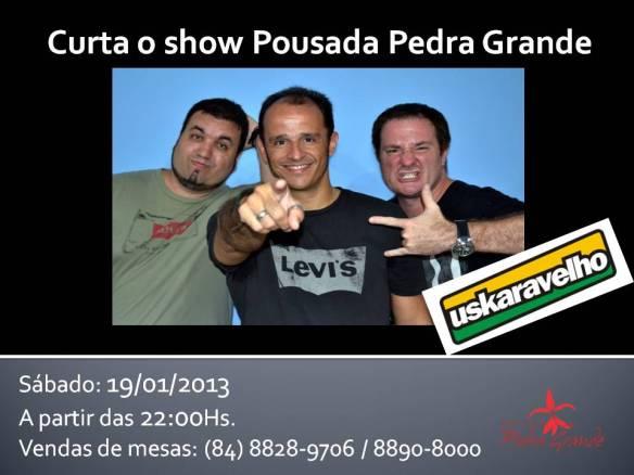 Show da banda Uskaravelho