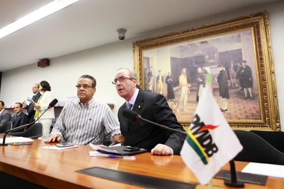 Henrique e Eduardo Cunha