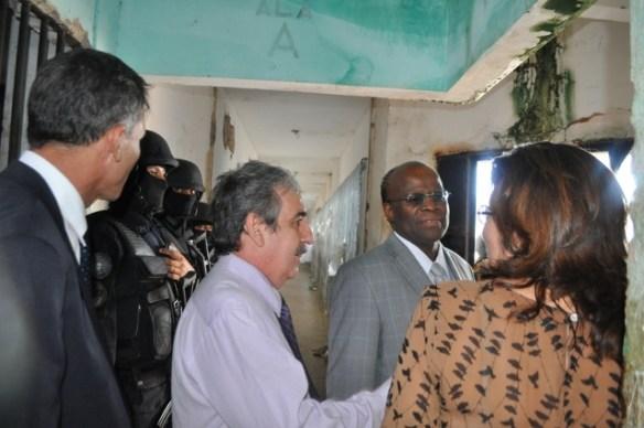 Ministro Joaquim Barbosa em Alcaçuz