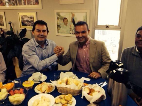 Paulinho e Kelps juntos no Solidariedade