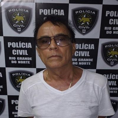 Foto do suspeito divulgada pela Polícia Civil do RN