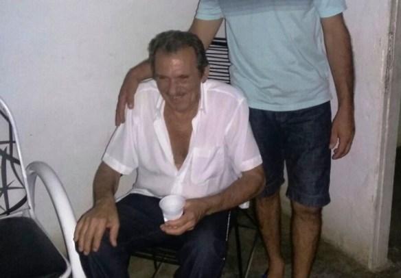 Foto da vítima publicada no blog O Câmera.