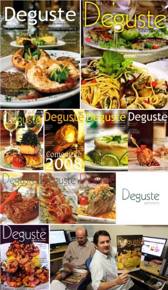 Revista DEGUSTE completa 12 anos em julho