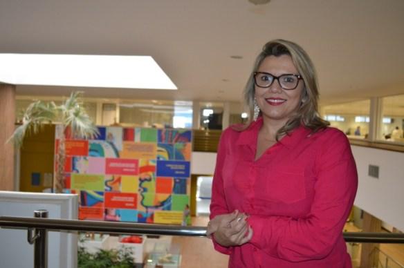 Lorena Roosevelt gerente da Unidade de Desenvolvimento da Indústria do Sebrae-RN