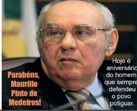 O delegado Maurílio Pinto de Medeiros foi diretor de polícia e subsecretário de Segurança do RN. Hoje está aposentado.