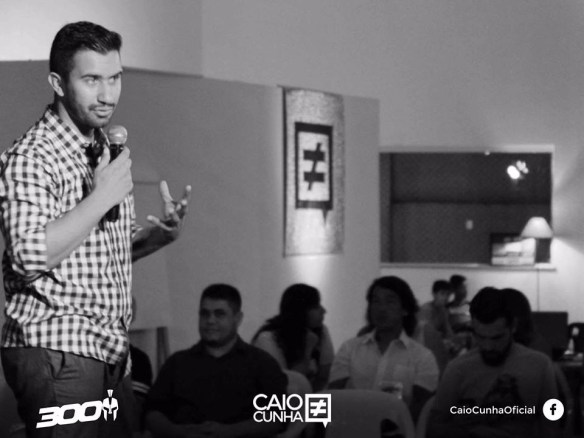 Caio Cunha vem de São Paulo dar palestra em Natal