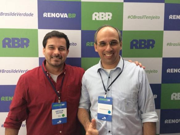 Arthur Dutra e Fernando Antônio são os únicos potiguares entre 135 líderes nacionais do RenovaBR