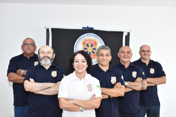 Katrin Paiva é agente da Polícia Federal há 15 anos e tem o apoio dos colegas do Sindicato