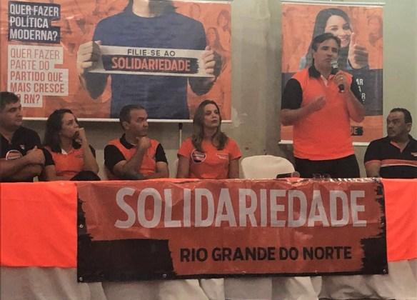 Salismar já fez até discurso no Encontro Regional do Solidariedade