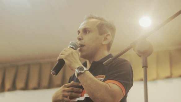 Brenno Queiroga é candidato a governador pelo partido Solidariedade