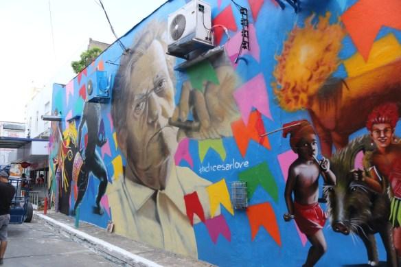 Beco da Lama ganhou vida nova para o Carnaval