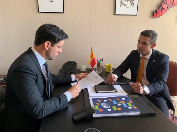 Allyson foi até Rafael Motta pedir apoio para interesses de Mossoró