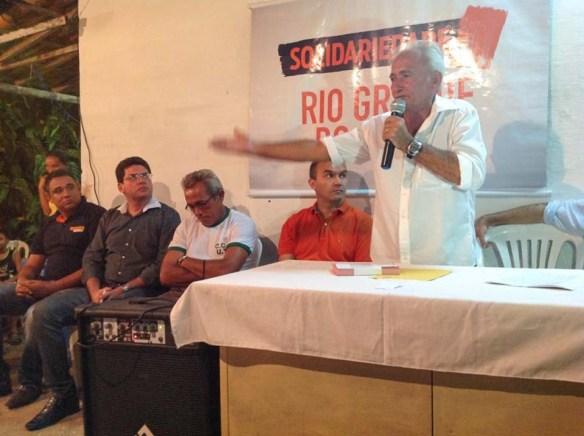 Raimundo Jorge é a primeira liderança comunitária do Solidariedade que chega à Câmara Municipal. Outras virão.