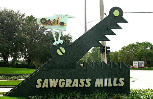 Agora o Sawgrass Mills tem shutter exclusivo para te levar às compras