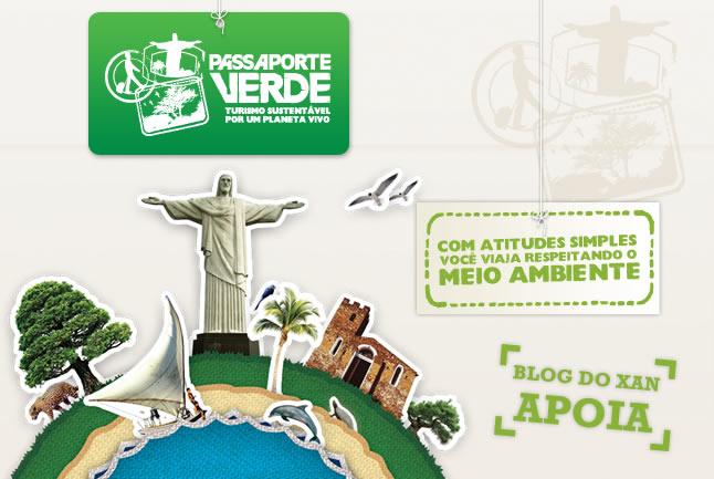 Faça uma viagem sustentável e conheça o Passaporte Verde
