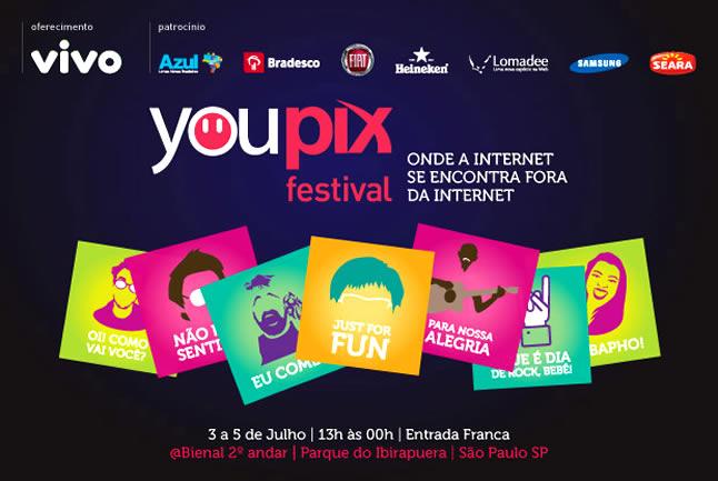 Confira o que rolou no primeiro dia do youPIX Festival 2012