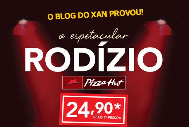 Provamos o rodízio da Pizza Hut em São Paulo!