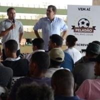 PELADÃO PALMAS 2016  Prefeitura lança Peladão Palmas 2016: Inscrições serão feitas pela internet