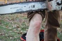 Lucky S.O.B. - STIHL Chainsaw vs. Fire Hose Pants