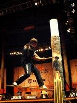 STIHL TIMBERSPORTS U.S Championships: Springboard Chop