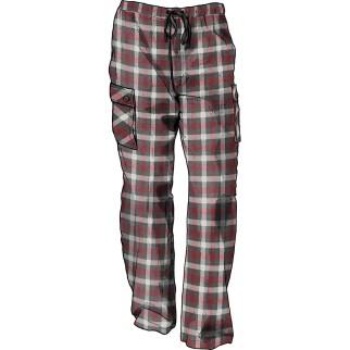 Men's Cargo Flannel Lounge Pants