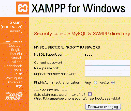 xampp for windows