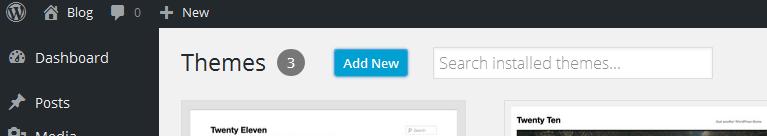 Add new theme