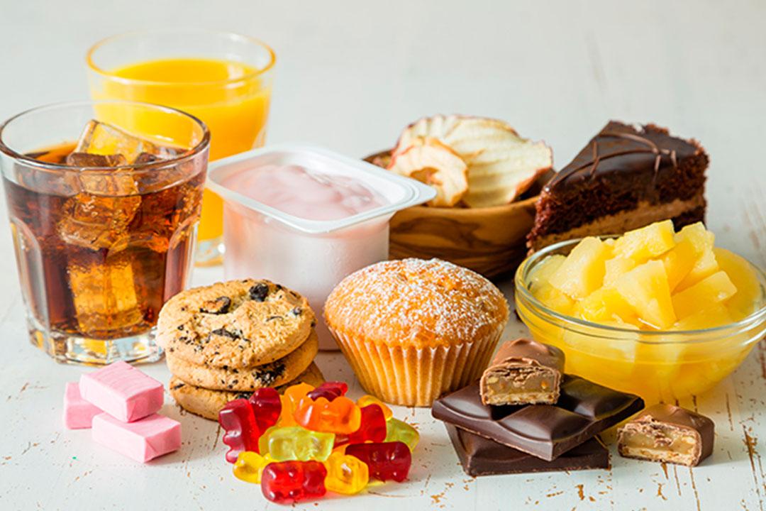 Azúcar oculto en alimentos