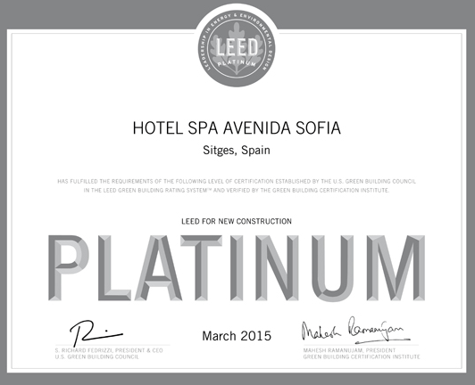 certificado leed platinum