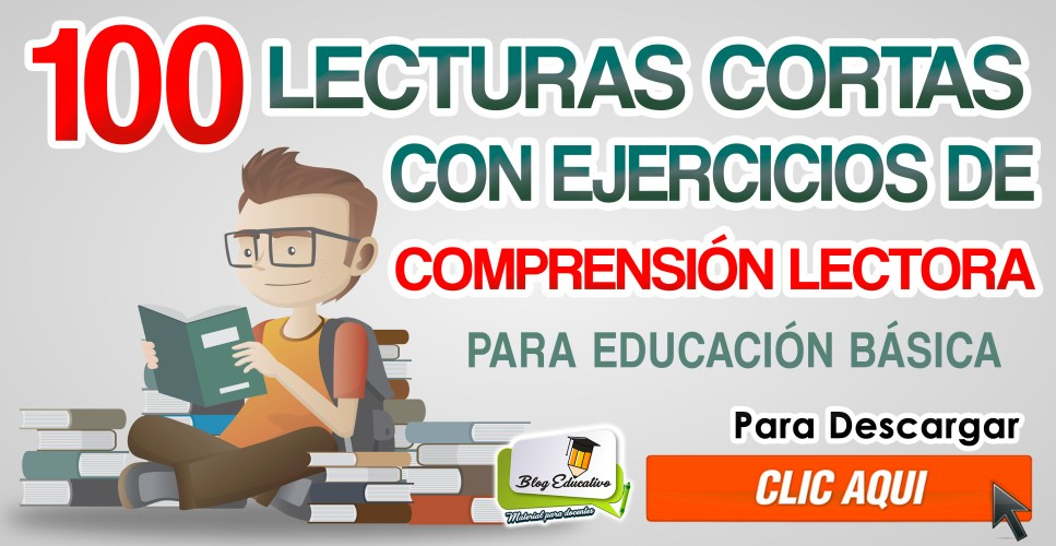100 Lecturas de comprension Lectora - Blog Educativo